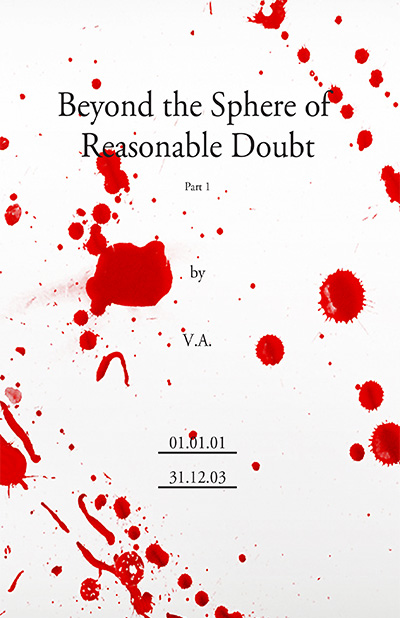 Beyond the Sphere of Reasonable Doubt, available as paperback and download